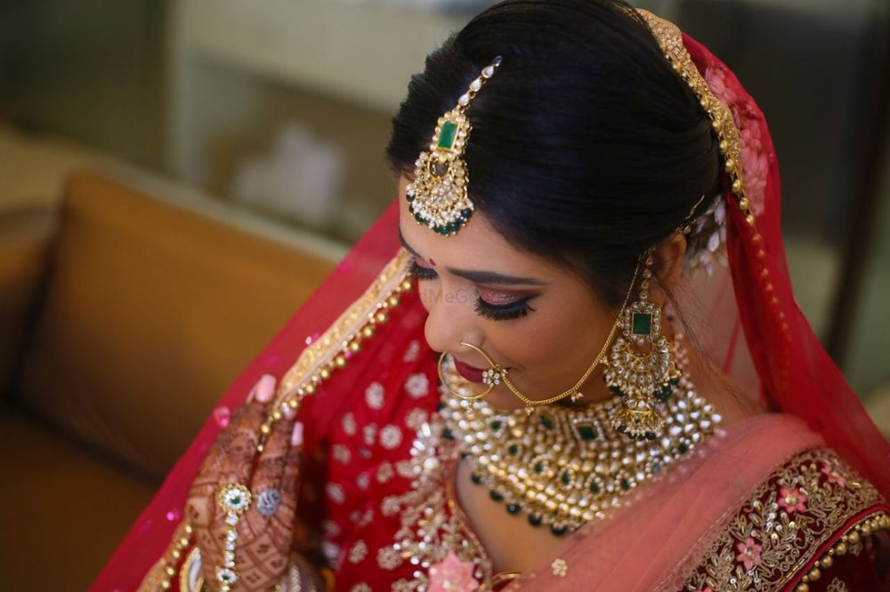 Photo From North Indian bride  - By Get Gorgeous with Ridhi