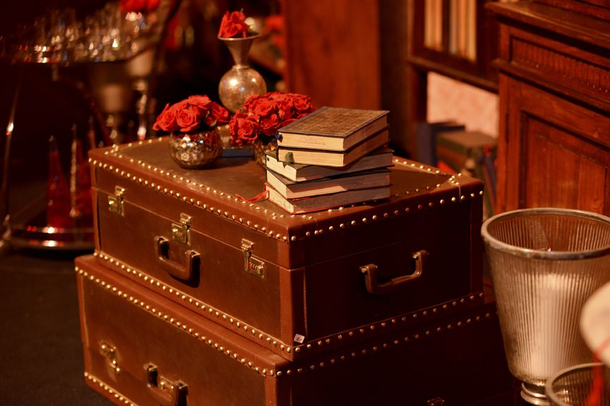 Photo of Trunks and books in decor