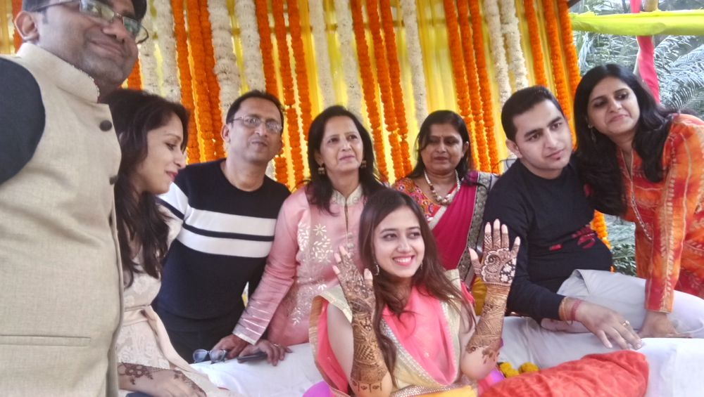 Photo From Nikita mehendi ceremony at imperia hotel,  gurgaon on 17 nov - By Shalini Mehendi Artist