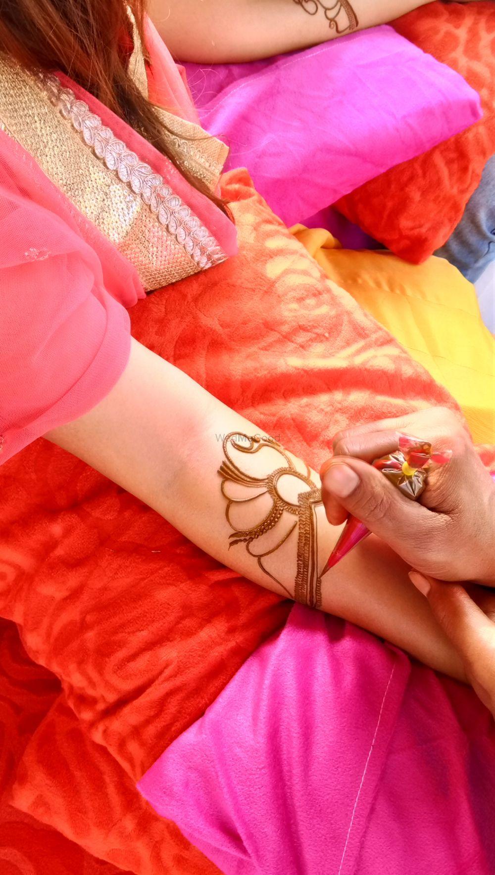 Photo From Nikita mehendi ceremony at imperia hotel,  gurgaon on 17 nov - By Shalini Mehendi Artist