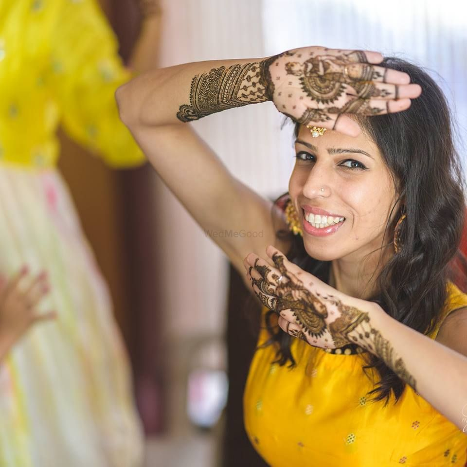 Photo From When it's your own best friend's mehandi :D - By Alankritaa