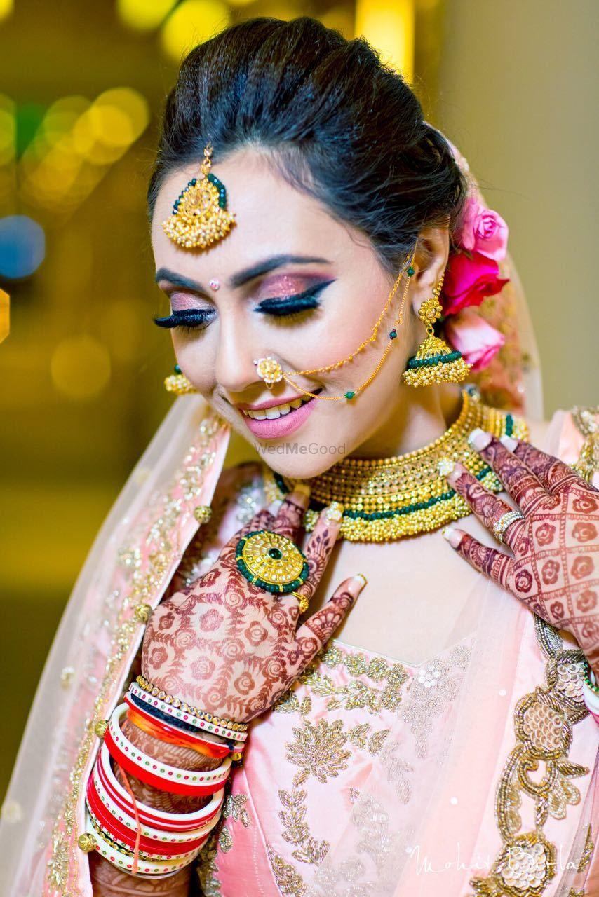 Photo From Gorgeous bride Jyotsana - By Makeup FX by Reshu Nagpal