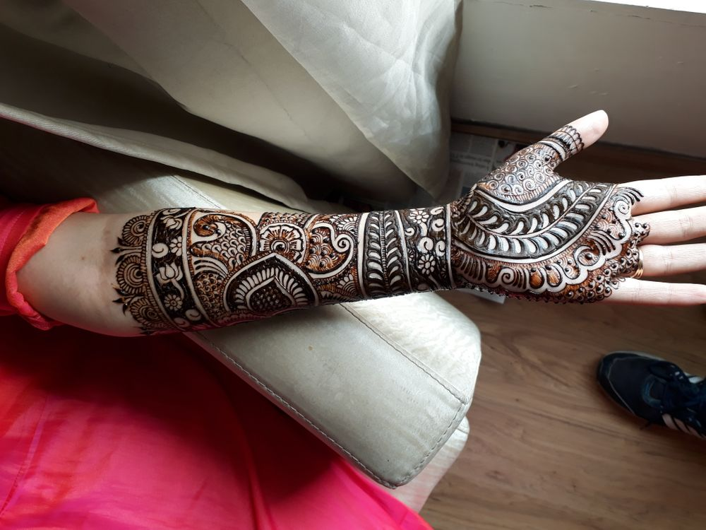 Photo From new letest bridal mehndi - By Amar Mehndi Artist
