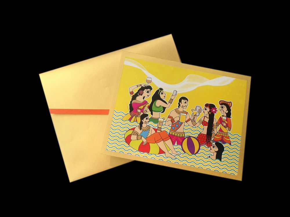 Photo of cartoon cards
