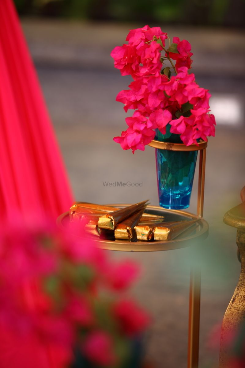 Photo From Bohemian Courtyard Mehendi - By Vintage Nutters