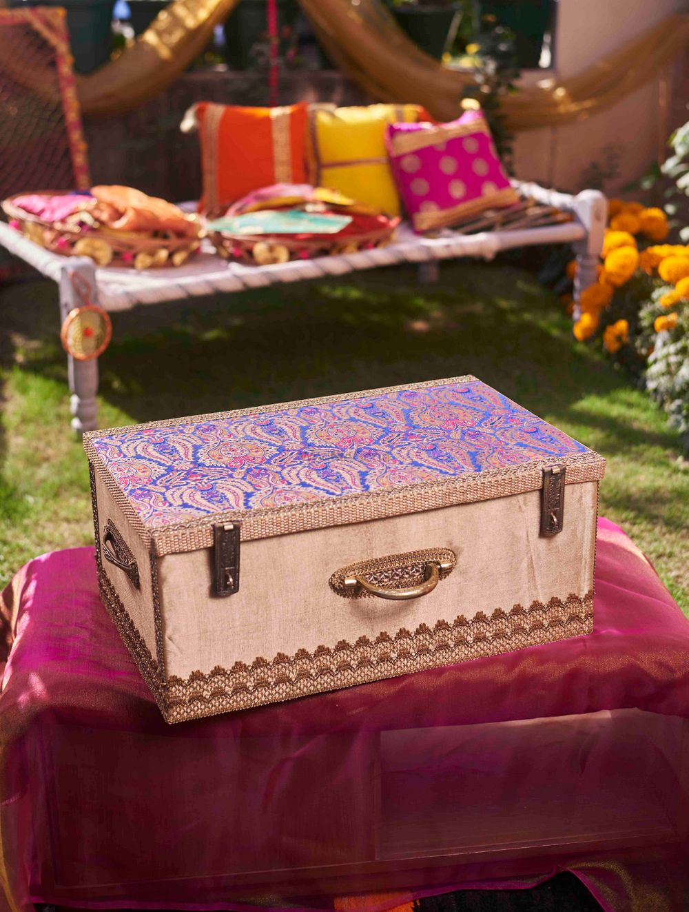 Photo From Trousseau packing and hampers - By Pataaree