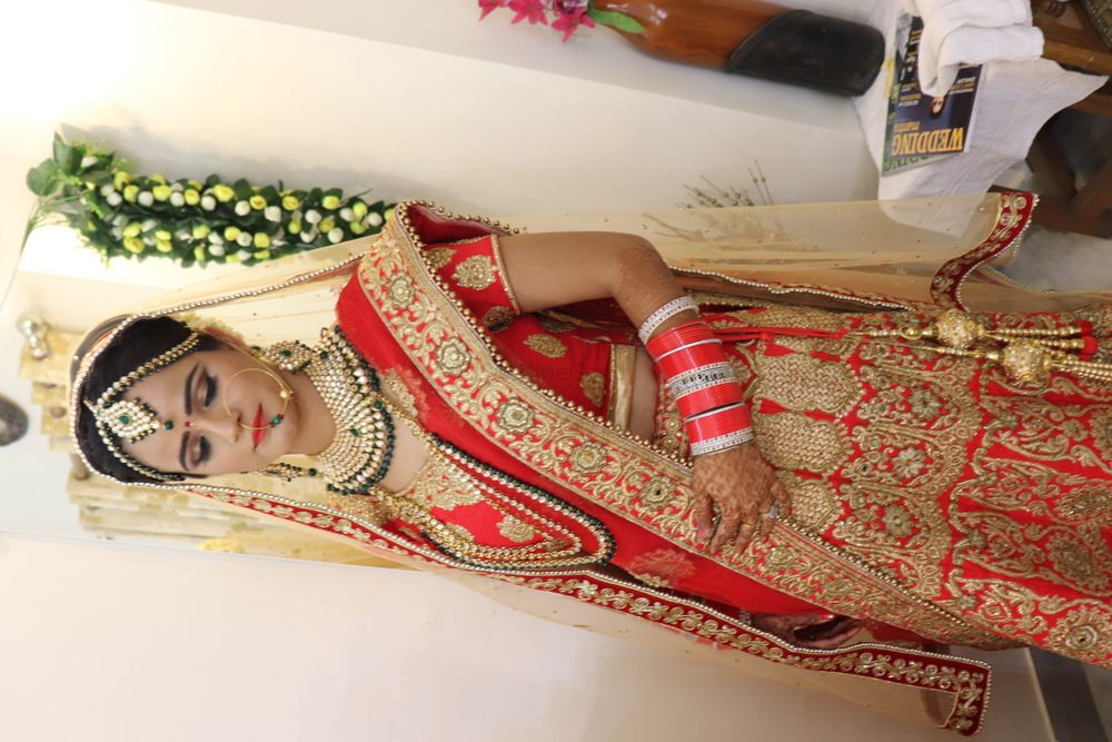 Photo From Bridal Makeover - By Simran Khanna Makeovers