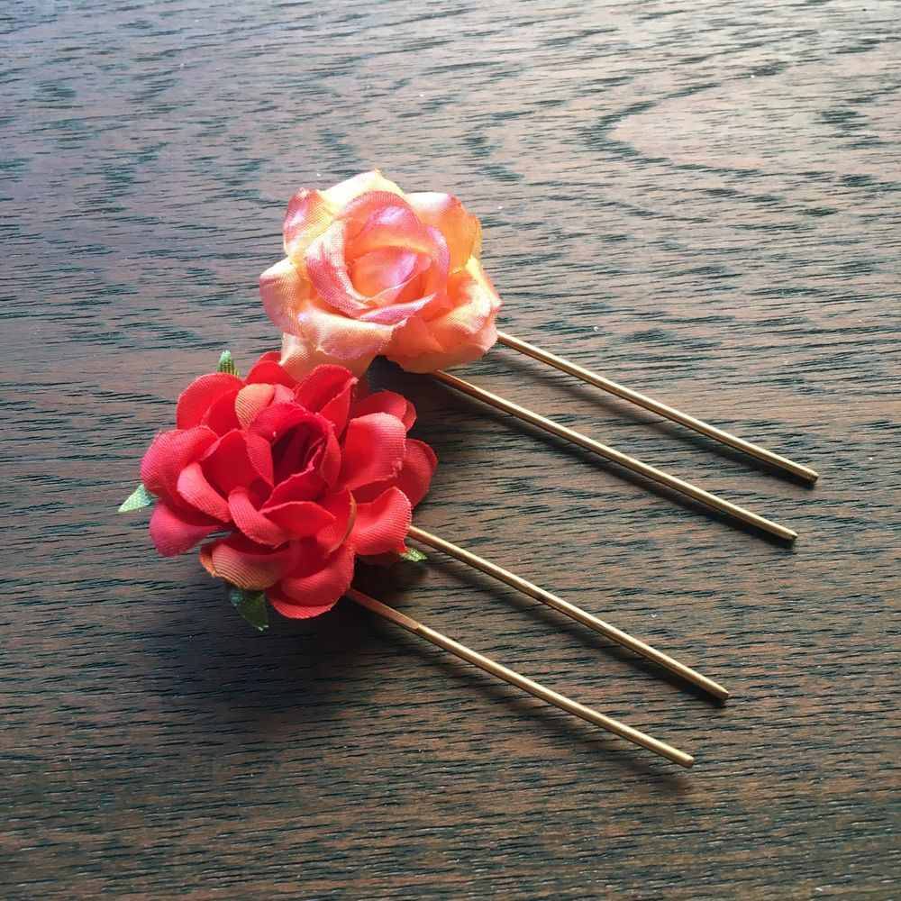 Photo From Floral Hair Pins - By Ami Mane Handcrafted Jewellery