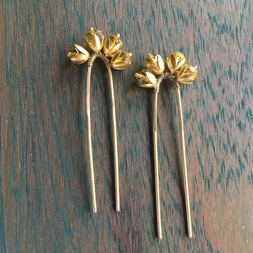 Photo From Metal Hair Pins  - By Ami Mane Handcrafted Jewellery