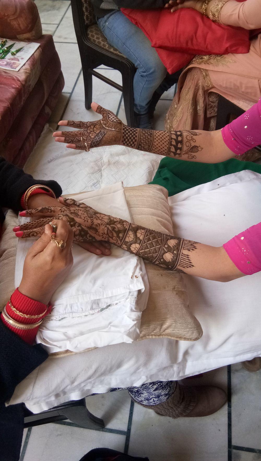 Photo From Japna bridal mehendi at Tagore garden,  New DELHI on 26 Dec 2017 - By Shalini Mehendi Artist