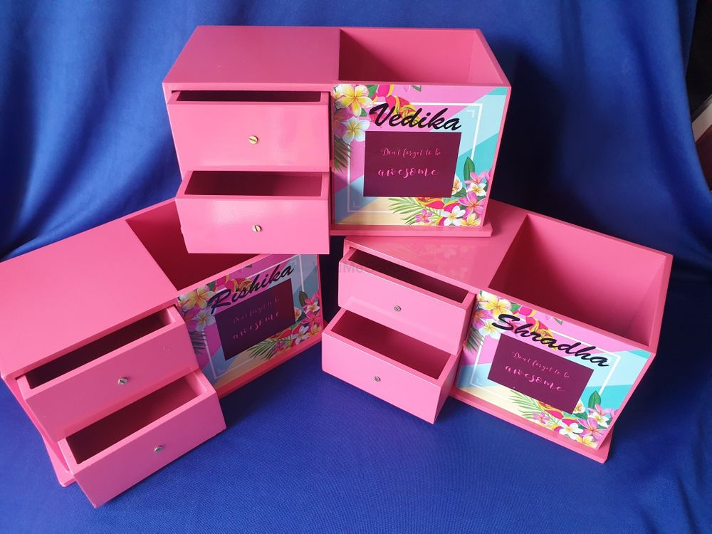 Photo From Bridesmaids favours Trunks - By The Art Box