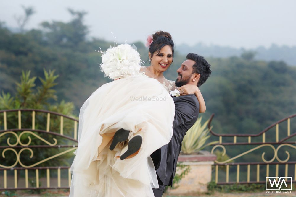 Photo From MARK & PREETI - By Wedding Art