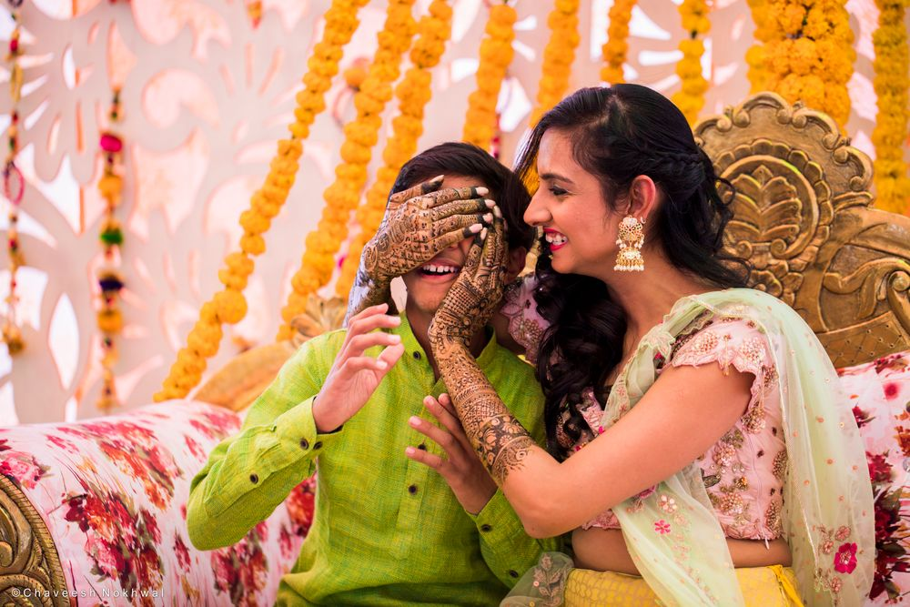 Photo From Haldi And Mehendi - By Chaveesh Nokhwal