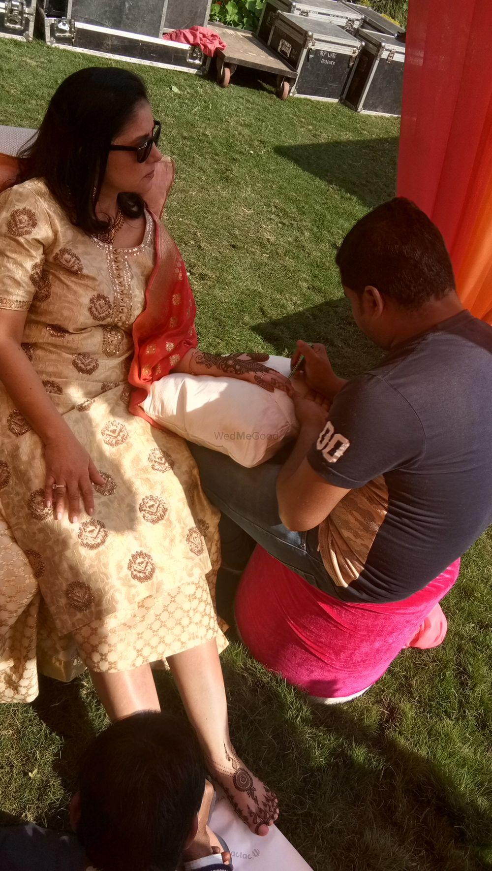 Photo From Swati puri bridal mehendi ceremony at Ananda greens at CHATTARPUR on 4th feb - By Shalini Mehendi Artist