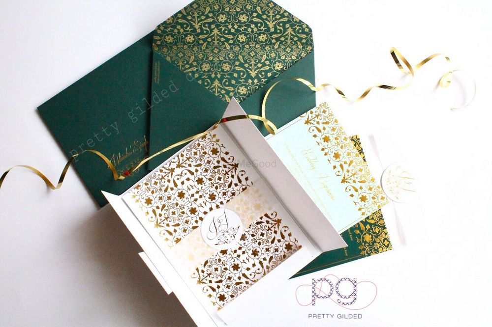 Photo From Jeweled Ivory- Emerald - By Pretty Gilded Designs