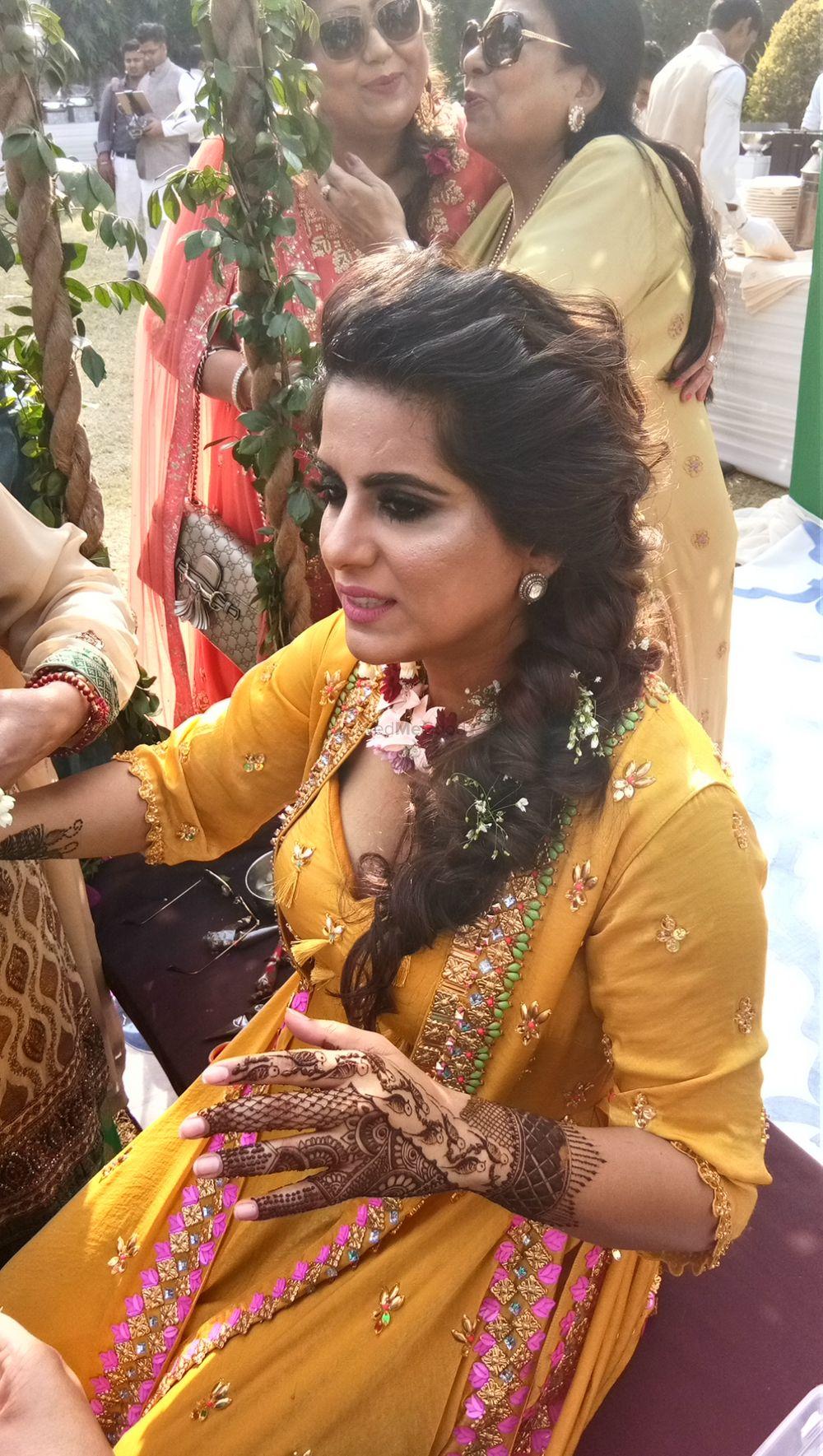 Photo From Ginni Kohli, The founder and CEO OF Wedwise,  Bridal Mehendi ceremony at sainik farms at Saket,  delhi on 17th Feb 2018 - By Shalini Mehendi Artist