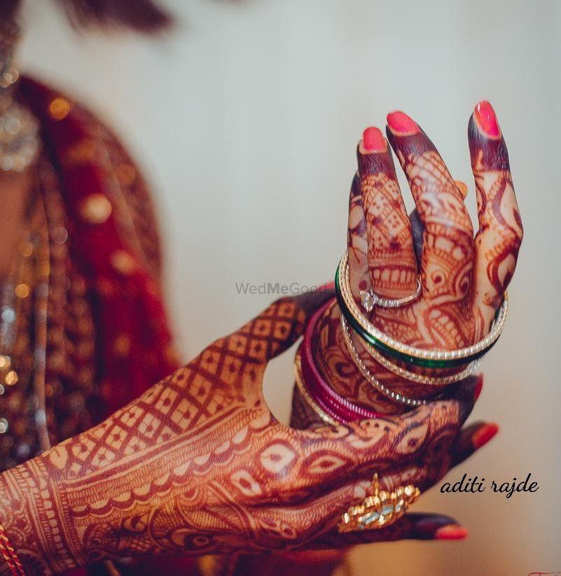 Photo From Wedding Colours - By Aditis Mehendi Art