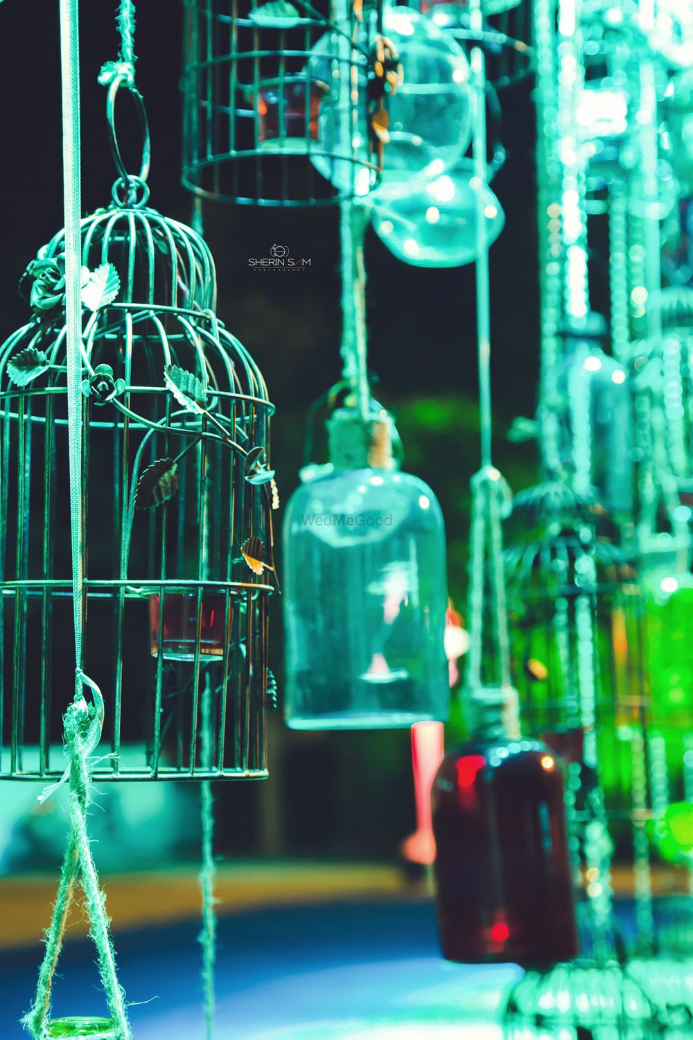Photo of birdcage props