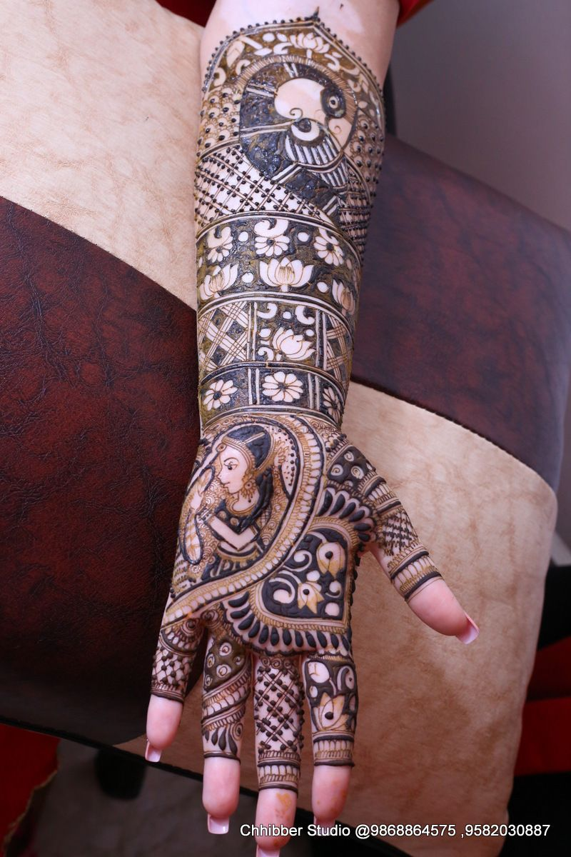Photo From Mrinali Kalia, the make up artist, Bridal mehendi on 9th march at ASHOK VIHAR - By Shalini Mehendi Artist