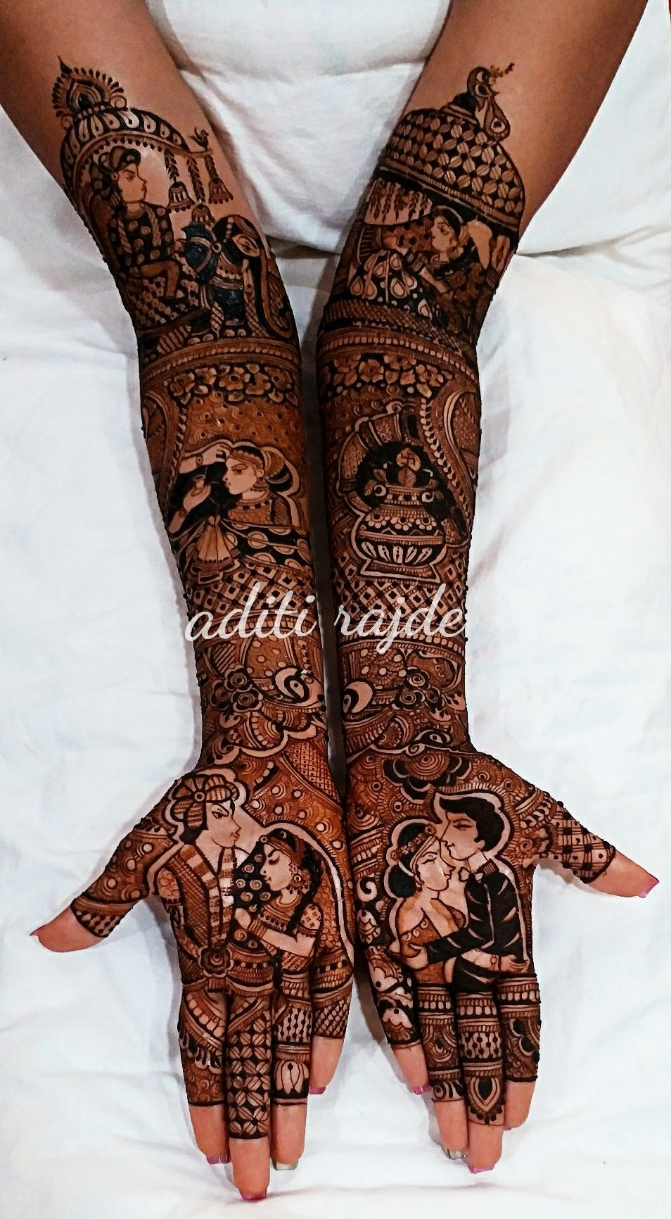 Photo From latest work - By Aditis Mehendi Art