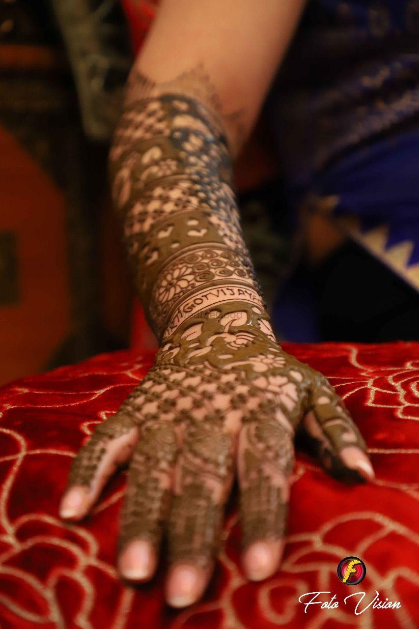 Photo From Kirti bridal mehendi ceremony on 3rd feb 2018 at ORANA Resorts, delhi - By Shalini Mehendi Artist