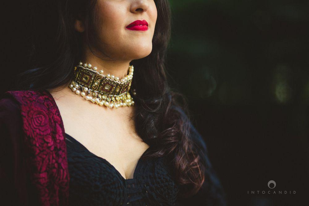 Photo of choker necklace