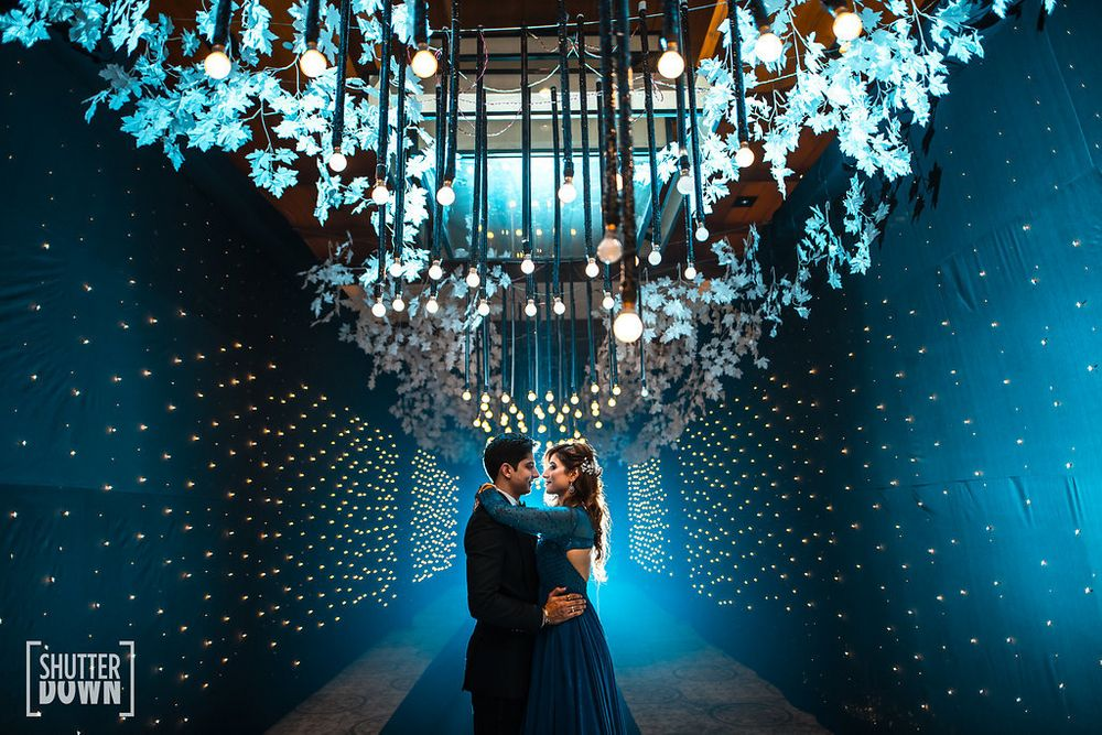 Photo of Dreamy decor idea for sangeet or cocktail
