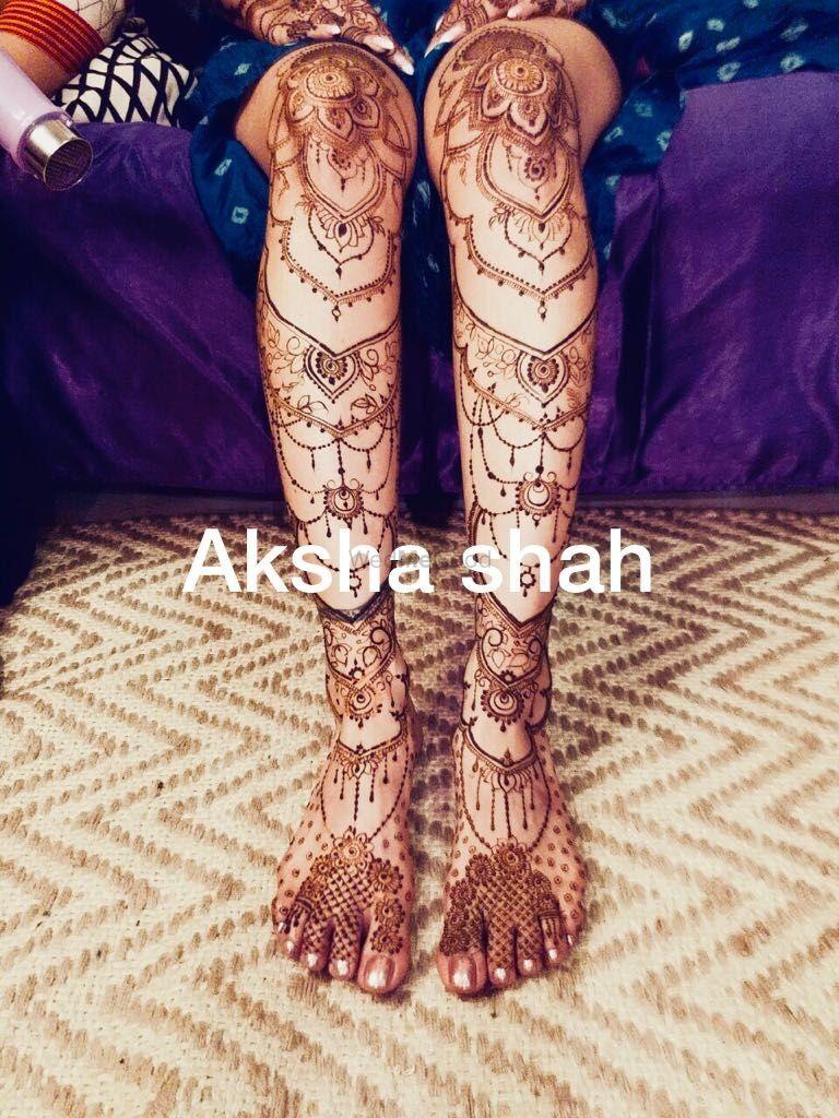 Photo From Bride Sonam chandna - By Aksha Shah Mehendi Designer