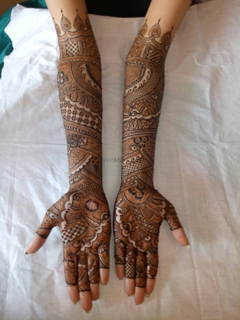 Photo From Bride shanaiaa - By Aksha Shah Mehendi Designer