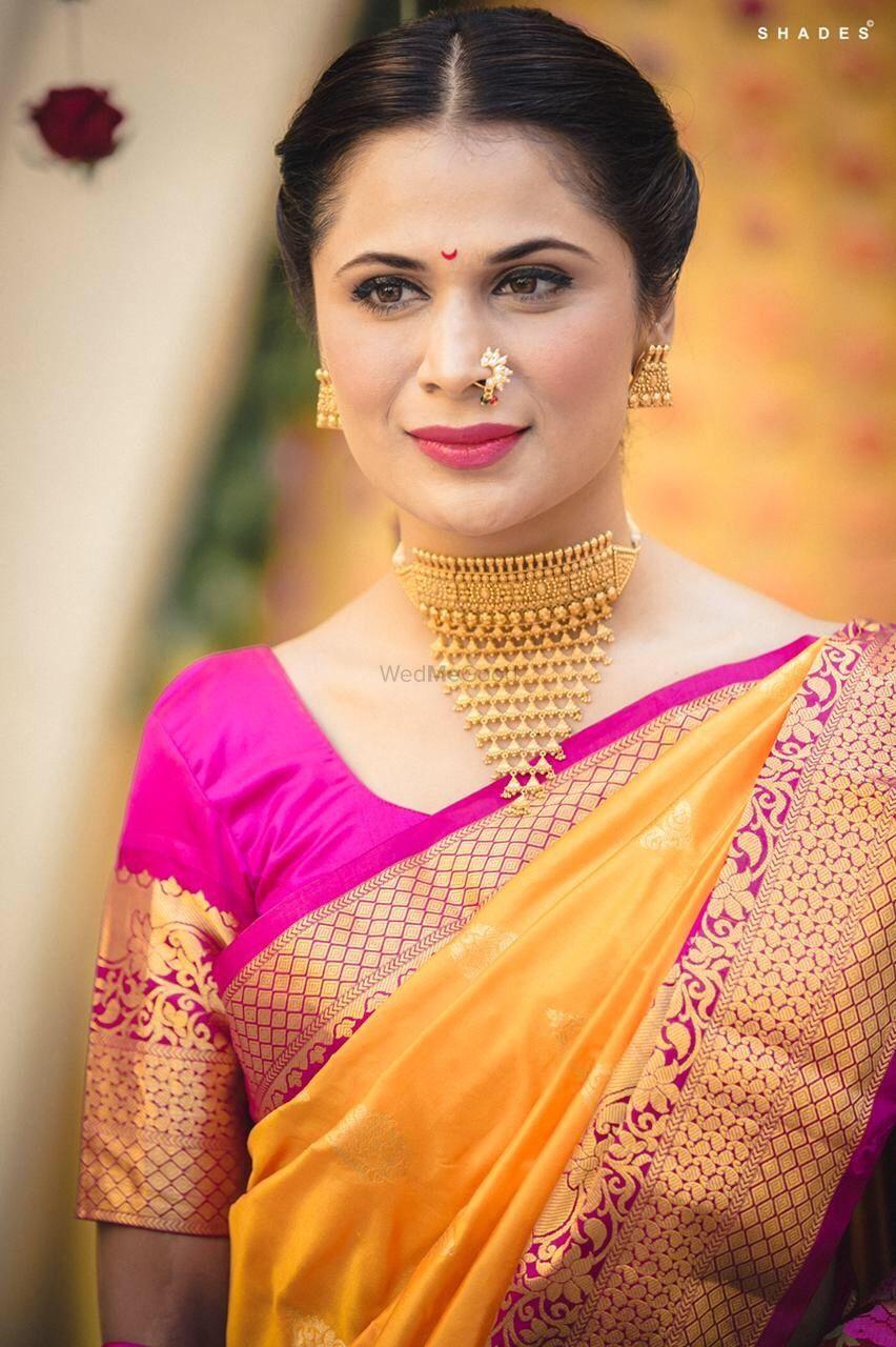 Photo of Beautiful maharashtrian jewellery in gold