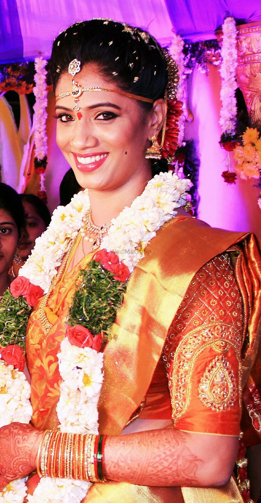 Photo From South Indian Bride's - By Make-up by Afsha Rangila