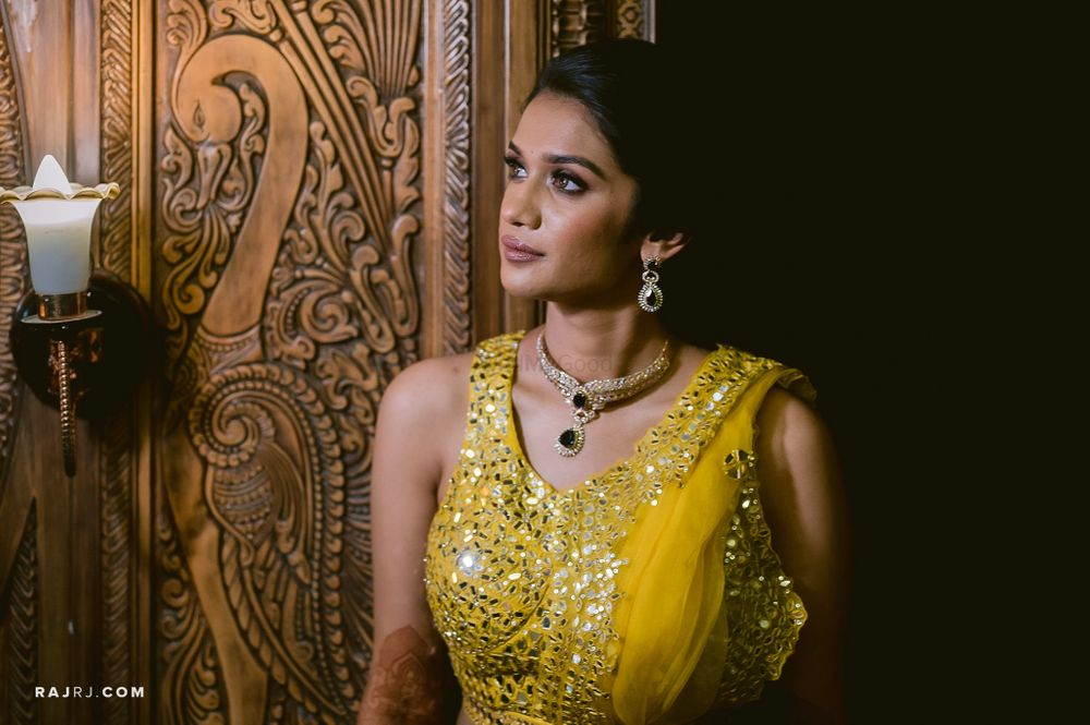 Photo From Sangeet/Cocktail Look! - By Make-up by Afsha Rangila