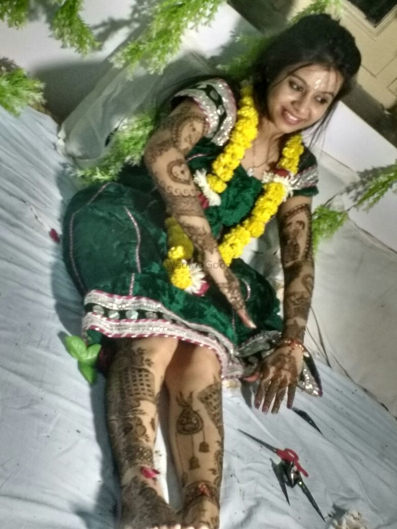 Photo From Mehandi by my team 2017-18 - By Lata Mehandi
