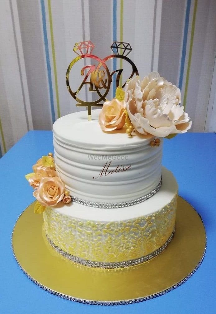 Photo From Wedding Cakes - By Matisse Cake Design Studio