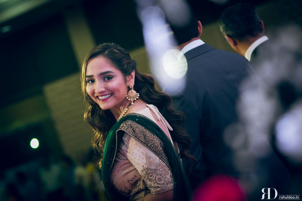 Photo From Meetas engagement wedding and reception - By Poonam Lalwani Bridal Hair and Makeup Artist