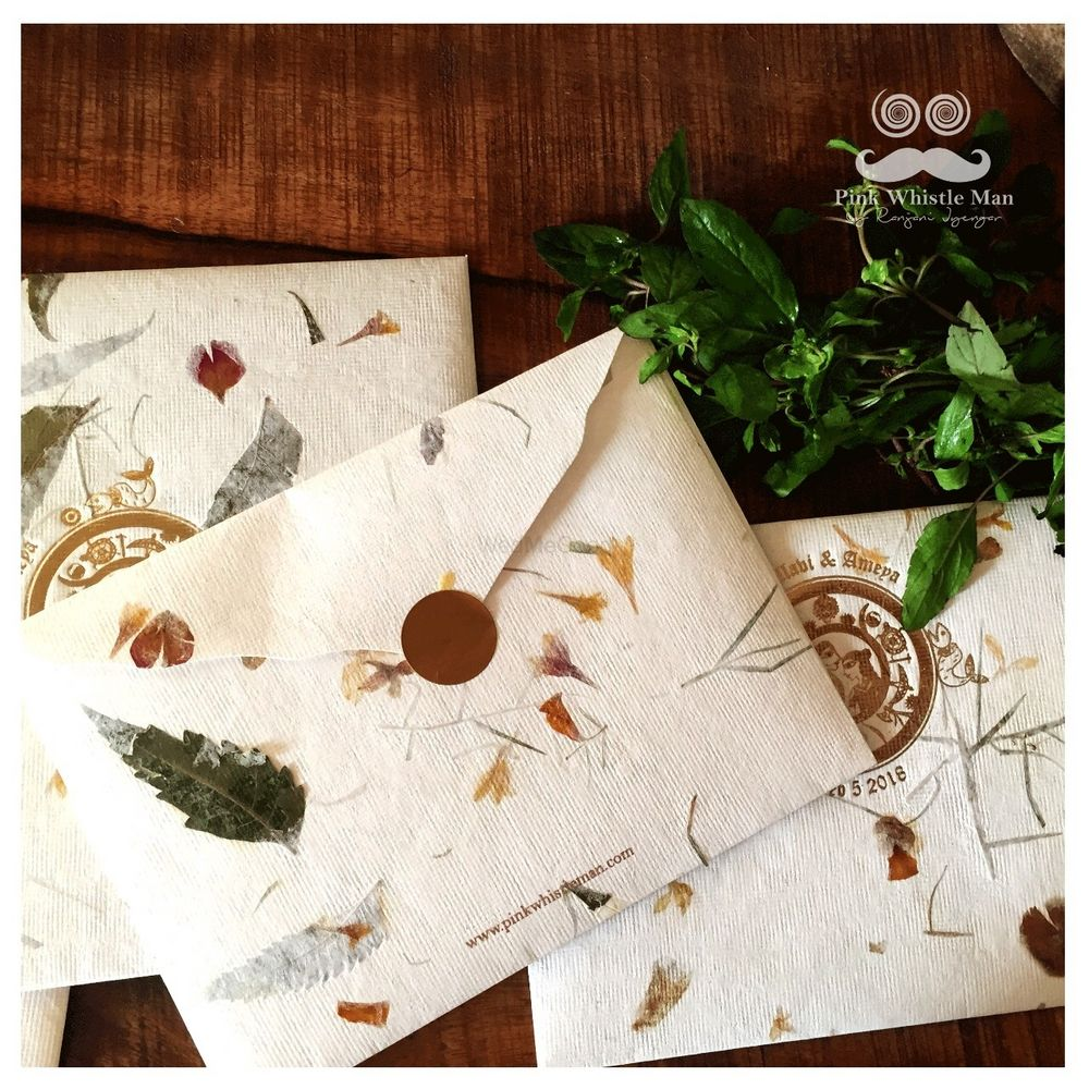 Photo From Seed Paper Invites - By Pink Whistle Man