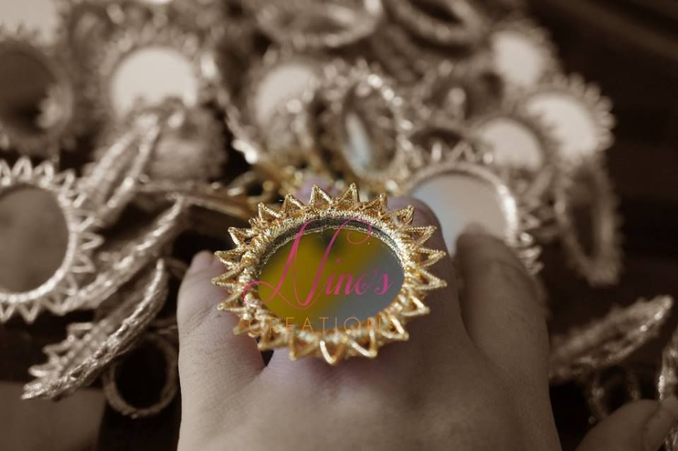 Photo From Gota Rings - By Ninos Creations