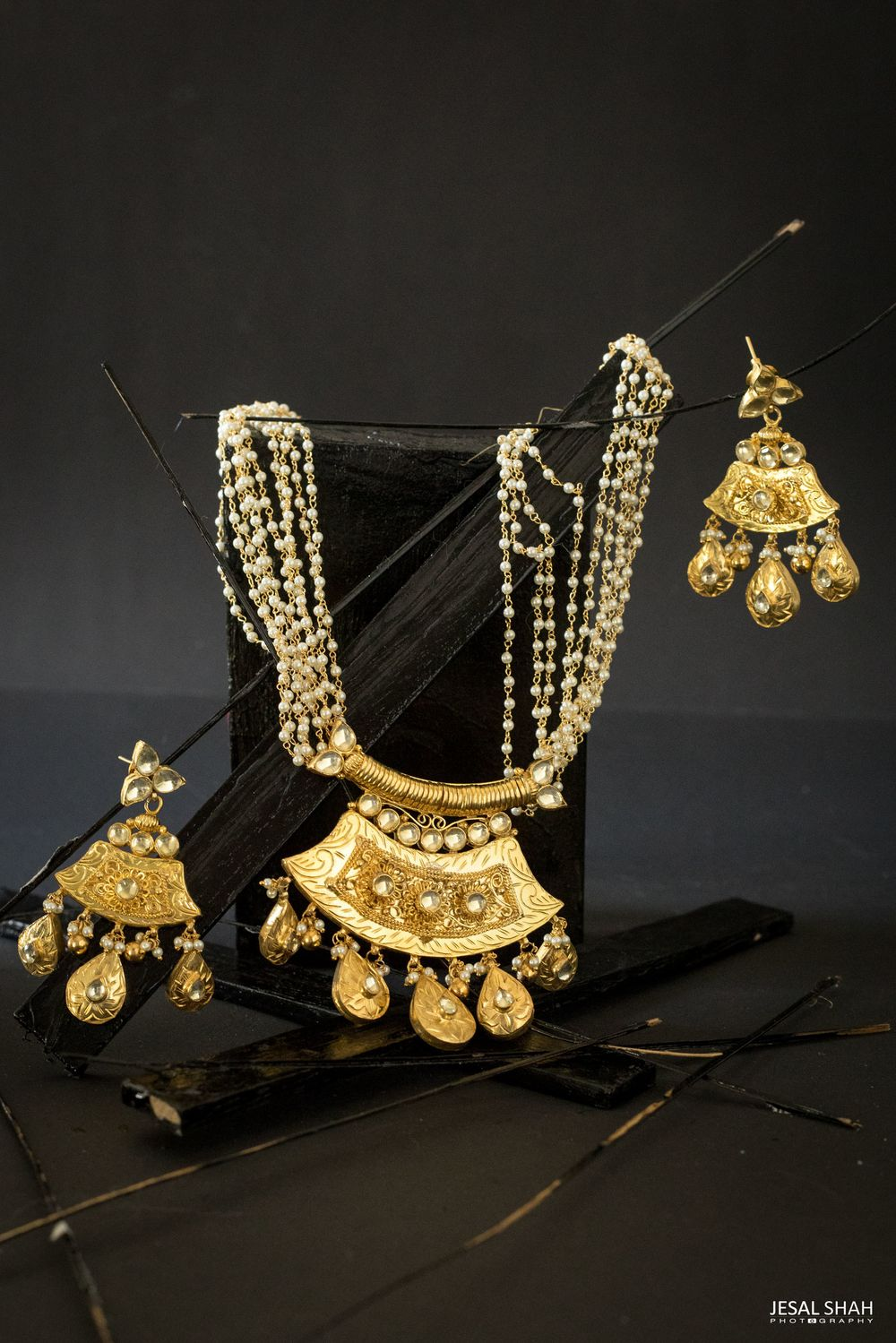 Photo From Black Gold - By Sweta Parikh-Bespoke Jewelry
