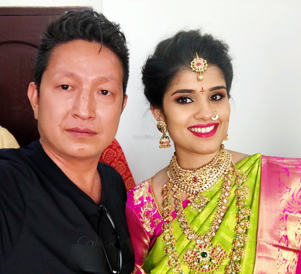 Photo From South Indian Brides - By Siro Make-up Studio - by Edward and Zing