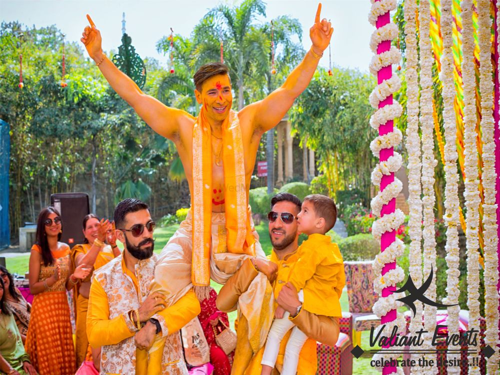 Photo From Haldi Ceremony - By Valiant Events