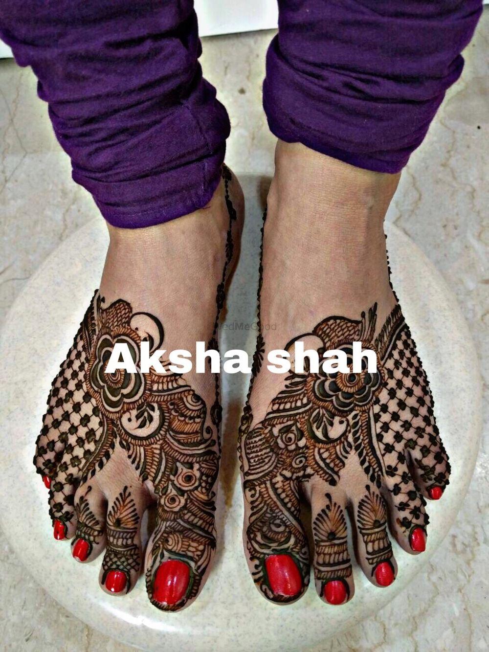 Photo From latest designer concepts - By Aksha Shah Mehendi Designer