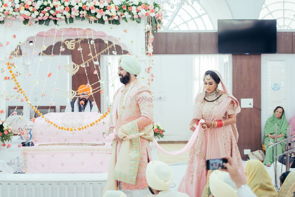 Photo of Pastel anand Karaj decor