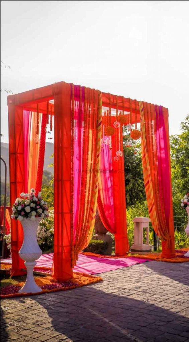 Photo From The colorful Mehendi decor - By Occasions Decor