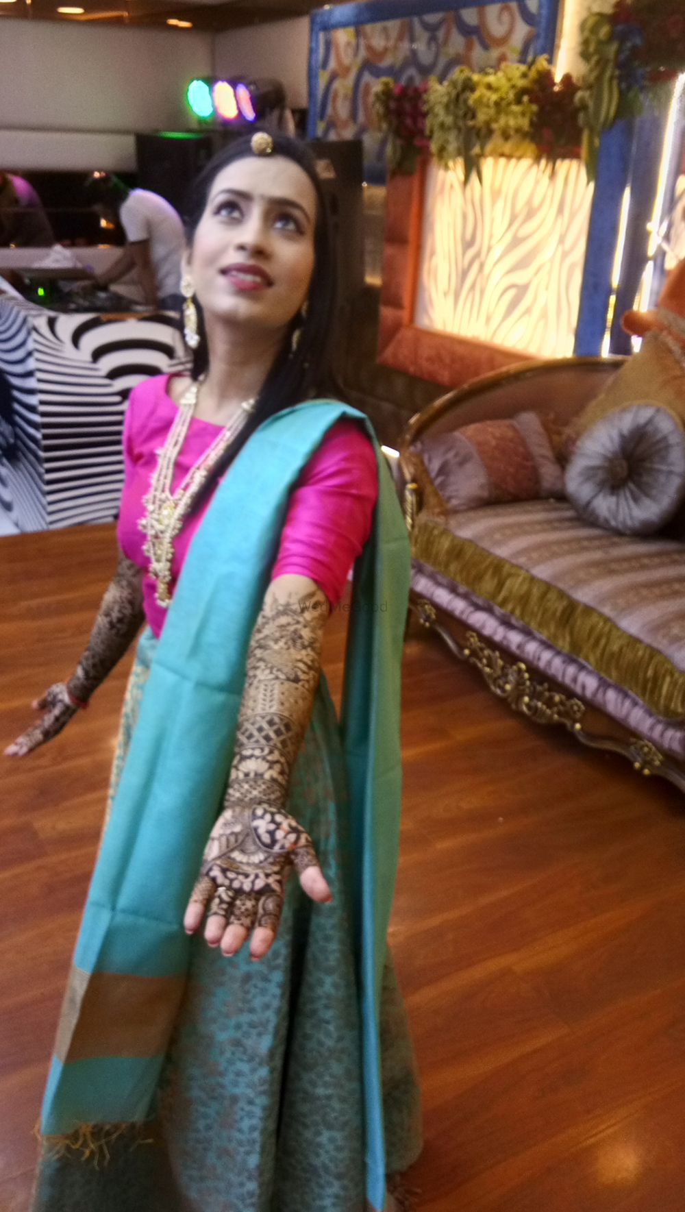 Photo From Priyanka bridal mehendi ceremony at Diamond crown on 5 th july - By Shalini Mehendi Artist