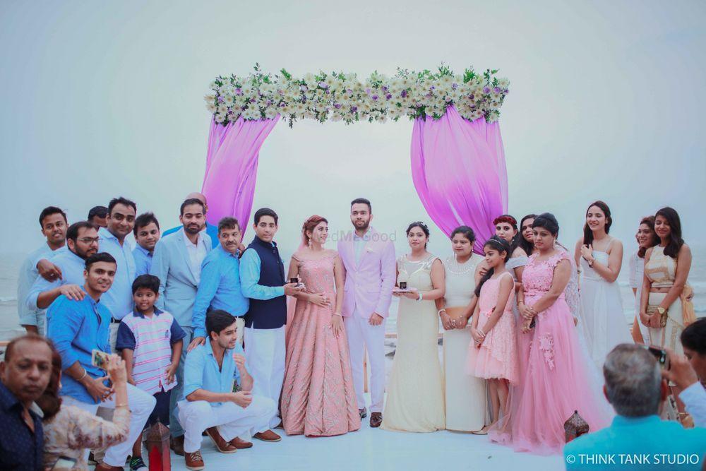 Photo From Vibhu x Ankit Goa Wedding - By Think Tank Studio