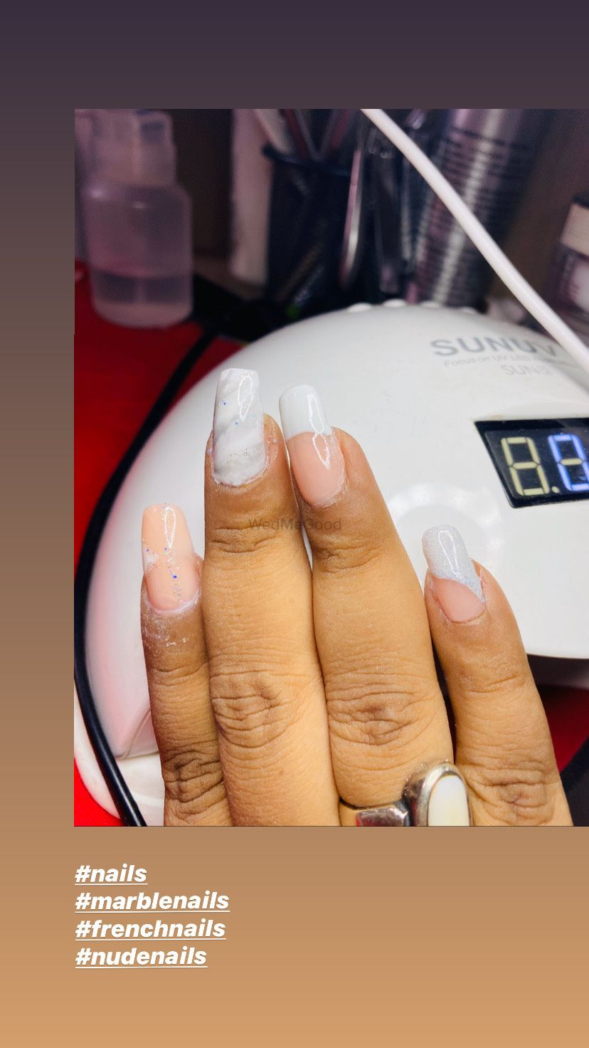 Photo From Nails - By Saura Salon