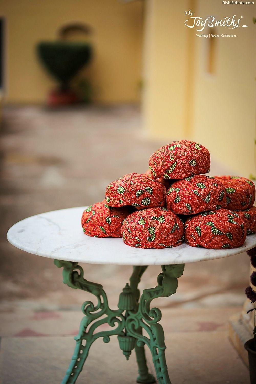 Photo of Palace wedding turban favour