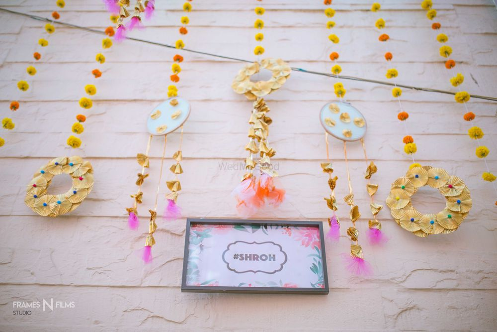 Photo of Wedding hashtag and DIY decor ideas for mehendi