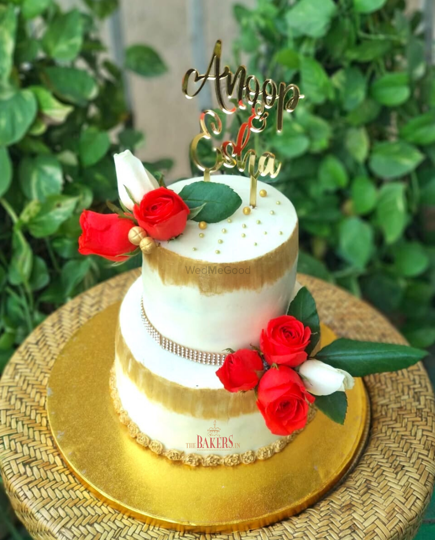 Photo From Engagement Cake - By TheBakers.in