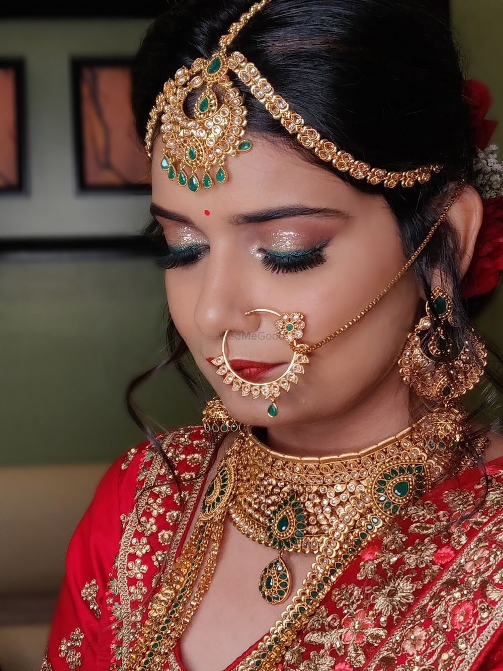 Photo From North Indian Bridal looks - By Tanya Arora Makeovers